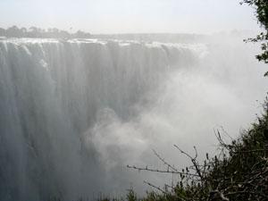 Thundering Victoria Falls