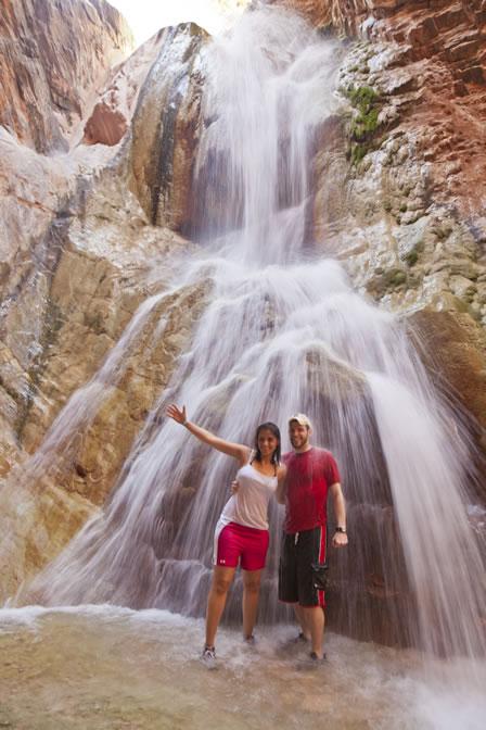 Hike to Travertine Falls