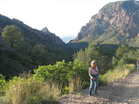 Hiking in Big Bend National Park