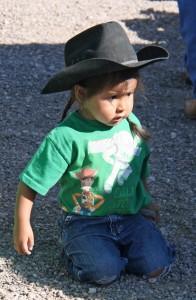 Navajo Child at the Gallup Flea Market
