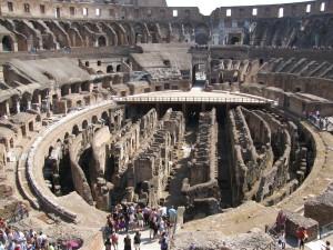 Inside the Colliseum (Photo: Steve Mullen)