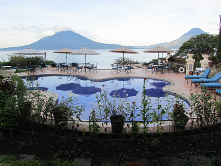 Lake Atitlan from Hotel Atitlan