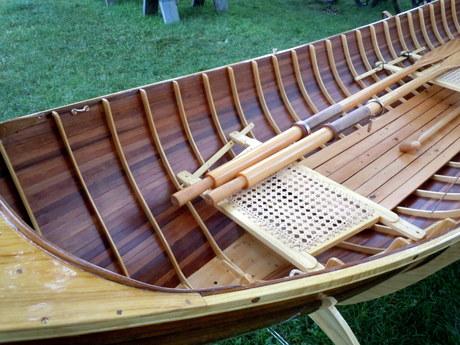 Adirondack Guide Boat Interior