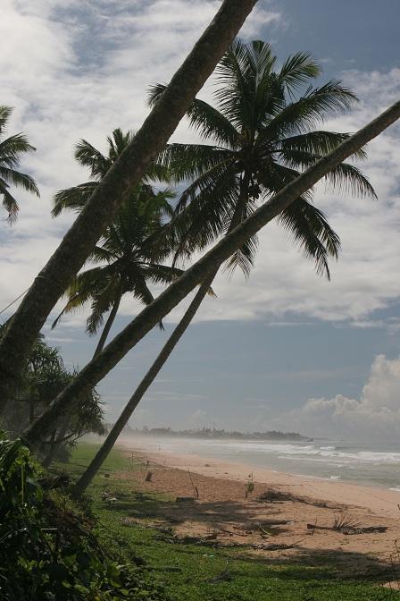 Beach outside Galle