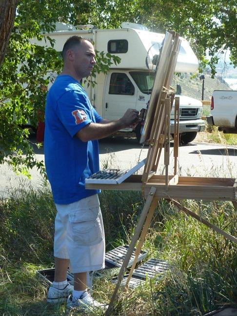 Red Rocks Painter