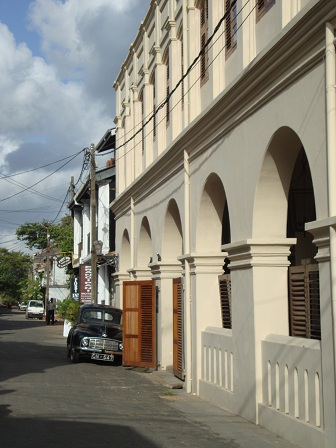 Church Street in Galle