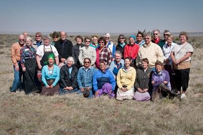 Adopt a Native Elder Volunteers at the Sanders, AZ Food Run