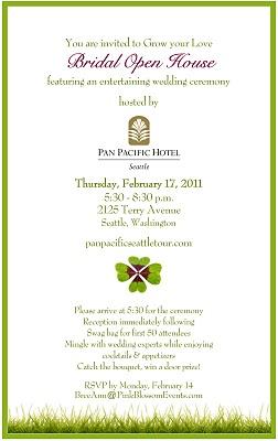 Invitation to Bridal Showcase