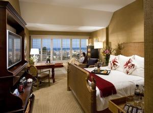 Harbor View Room at the Portola Hotel & Spa