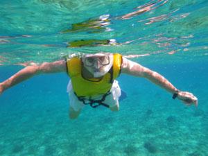 snorkeling at Cozumel