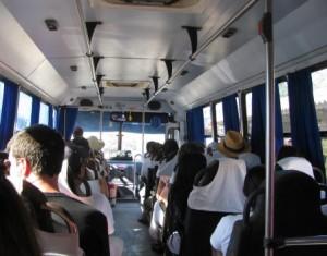 The bus to Sayulita