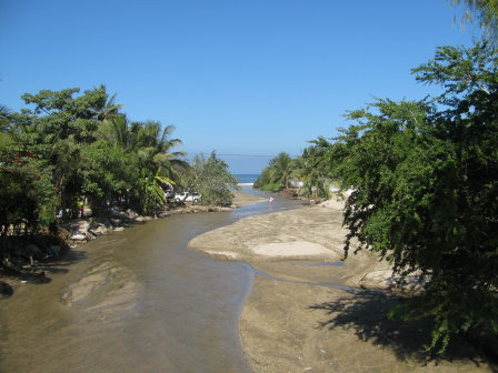 River through Sayulita