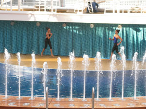 Aqua Theater water show