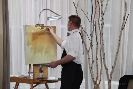 Sam Day, wedding painter