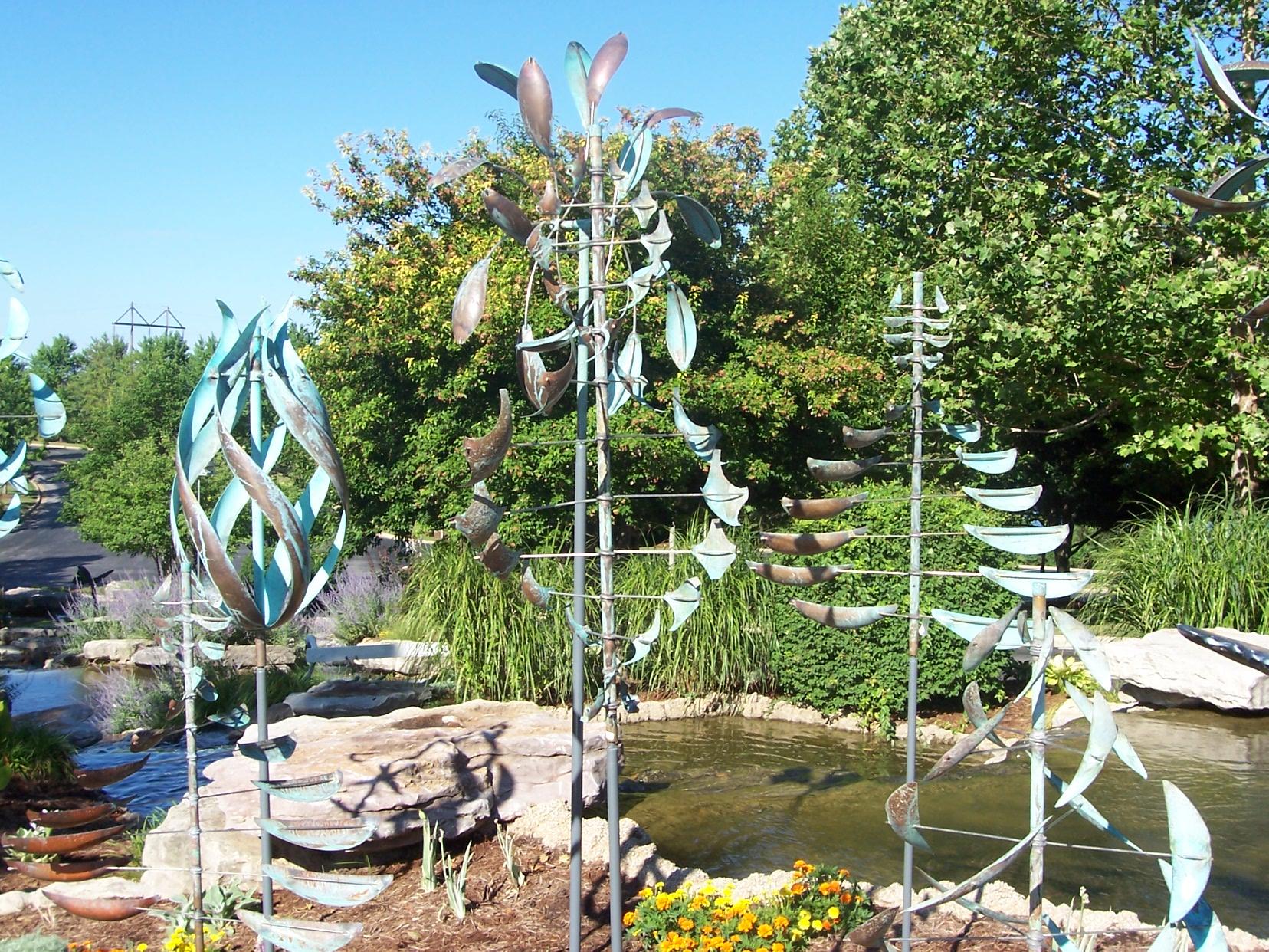 Lyman Whitacker Wind Sculptures