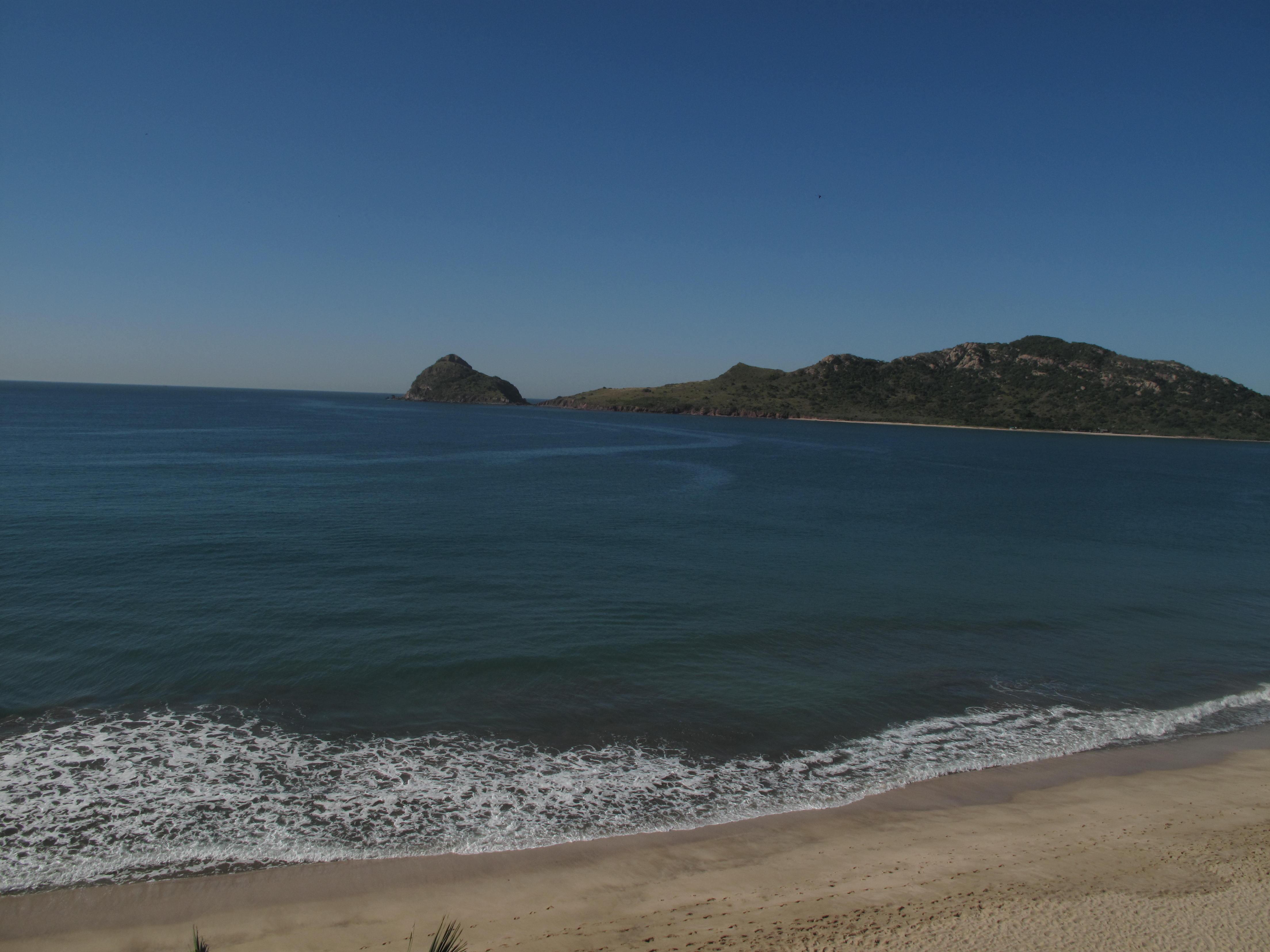 The beach at the Hotel Playa Mazatlan