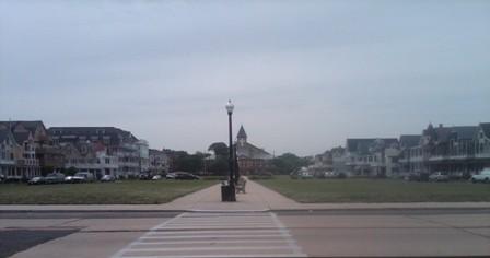 Ocean Pathway - the site of the Giant Flea market