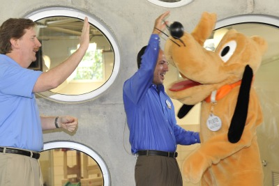 Pluto, Dennis Dolan, and Phil Bernard