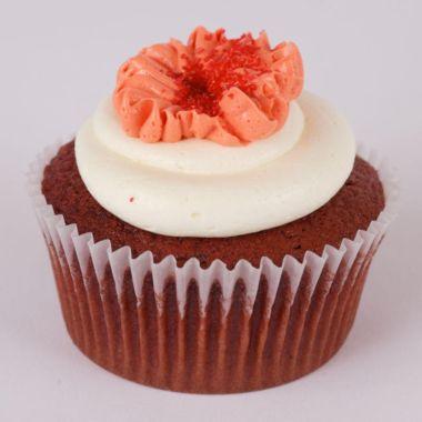 Red Velvet is a popular cupcake at Swirlz