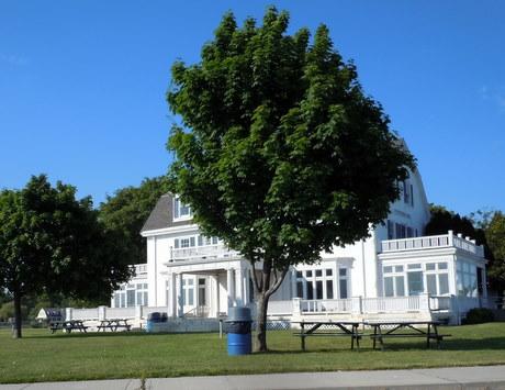 Zbeirski house on Eastern Point Beach, Groton, CT