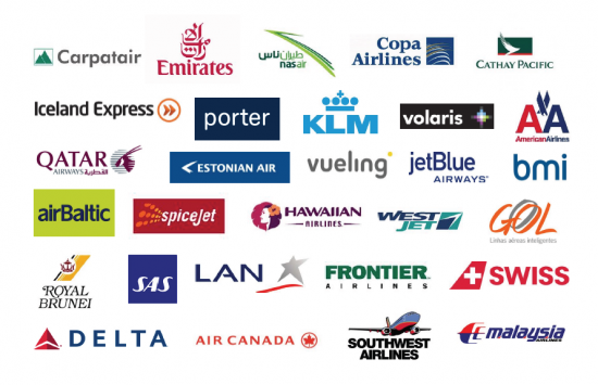 Save money on air travel.