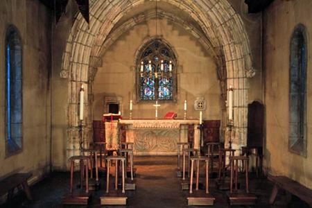 Joan of Arc Chapel - Altar