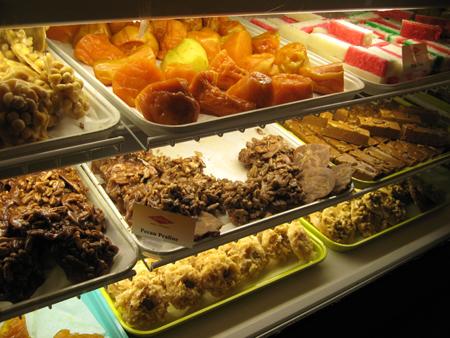 Bakery Case at Mi Tierra