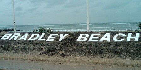 Letters restored for Bradley Beach