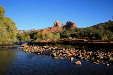 Cathedral Rock and Red Rock Crossing in Sedona