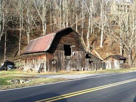 Leaving Cherokee, North Carolina