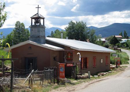 Truchas church serves as a gallery