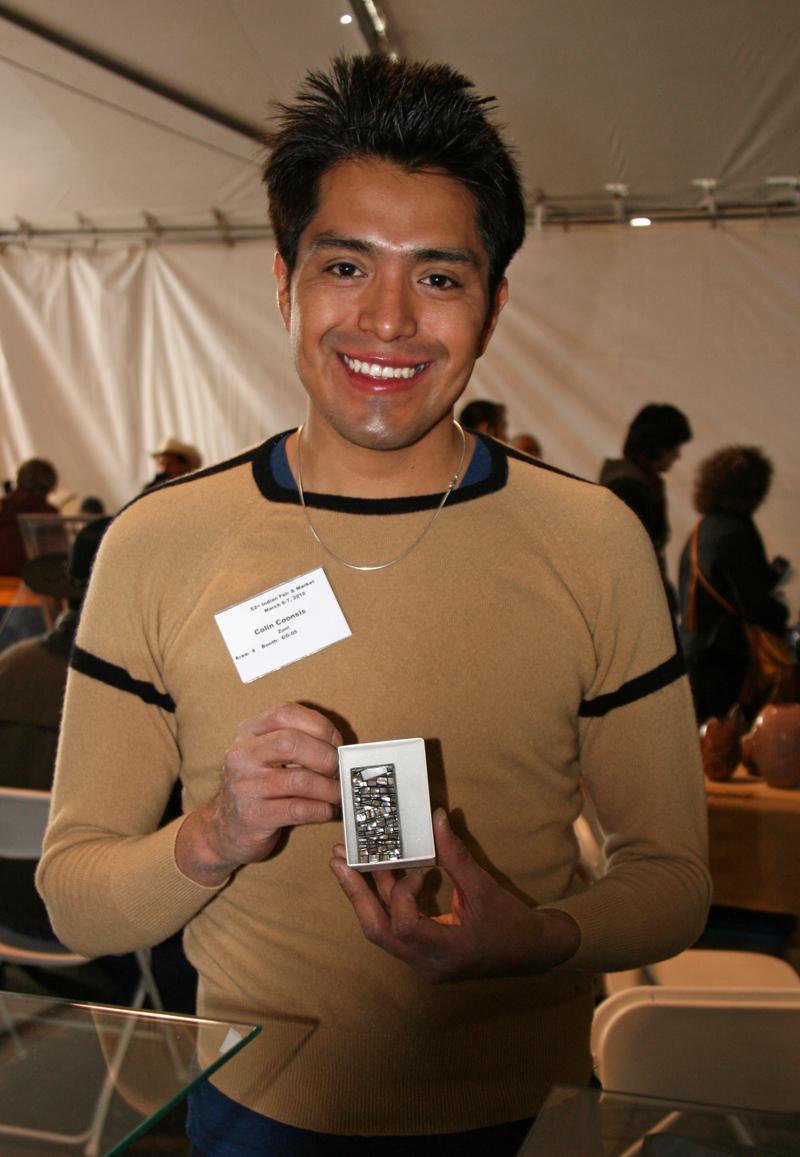 Colin Coonsis Zuni Inlay Artist