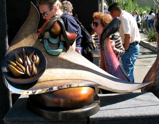 Heard Museum Corn Maiden Sculpture
