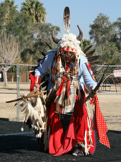 Dancer at the Litchfield Park Native American Art Show