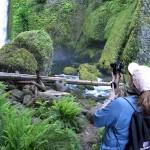 Debbie, of Walking Adventures International, Enjoys an Event in Oregon