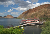 Dolly Steamboat Dock on Canyon Lake, Arizona