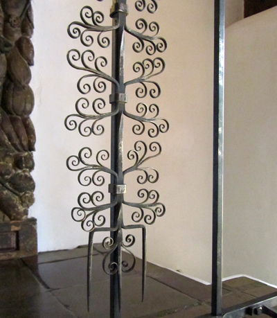 Southwest Style - Iron Work in the White Sisters' Home