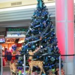 Christmas Tree at Jacksonville International Airport