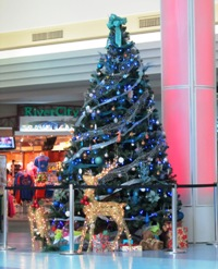 Christmas Tree at Jacksonville International Airport