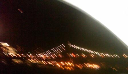 Lights on the Manhattan Bridge