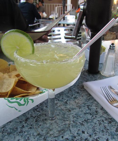 Golden Margarita at Gabriel's