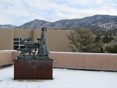 Navajo Sheep Herder - Wheelright Museum Santa Fe