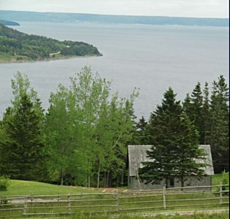 The Highland Village at Iona has spectacular views of Cape Breton's waterways from