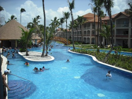 Winding pool