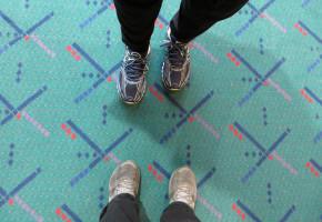 PDX Carpet Selfie