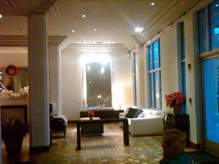Lobby of the Savoy Hotel