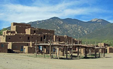 Mabel Dodge Luhan's Beloved Taos Pueblo