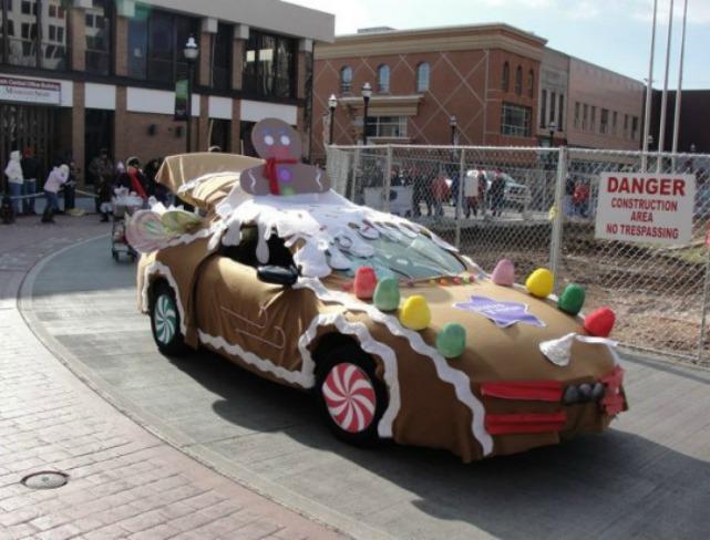 Gingerbread car