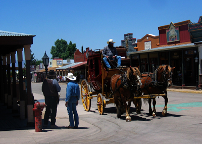 Tombstone, Arizona Stage Coach